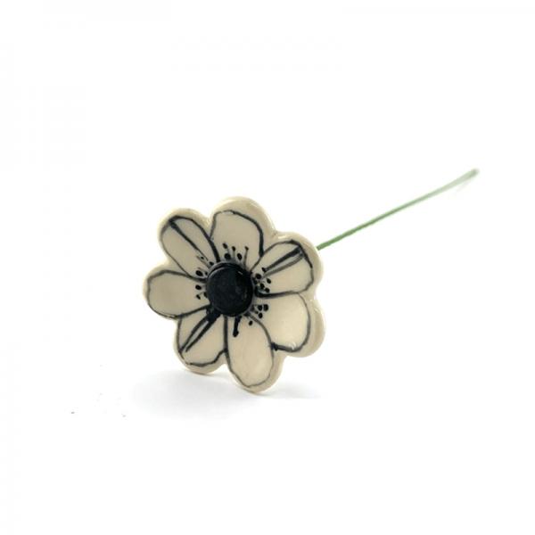 anemone ceramic flower