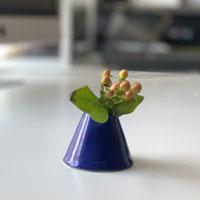Ceramic Flowers + Vases