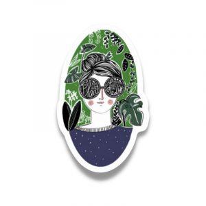 plant-lady-sticker