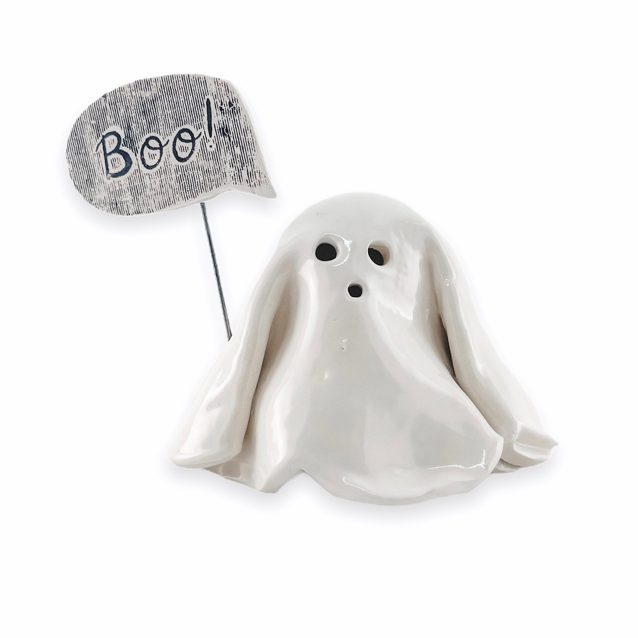 Halloween Ghost Candle Holder